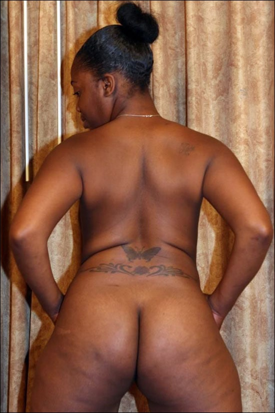 Gorgeous ebony babe does some posing for the cam while she gets naked and then she is getting her pussy nailed hardcore style